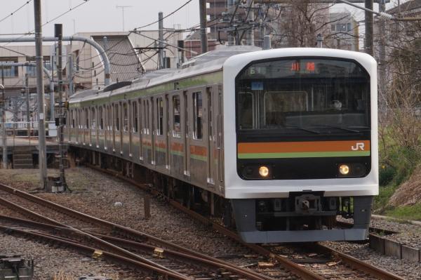 2016-03-31 八高線209系ハエ72編成 川越行き