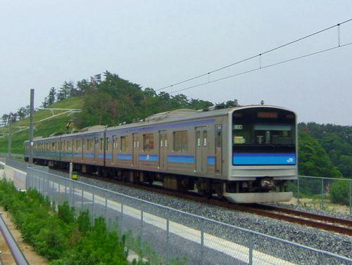 仙石線全線復旧1 205系