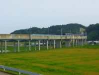 仙石線全線復旧11高架橋