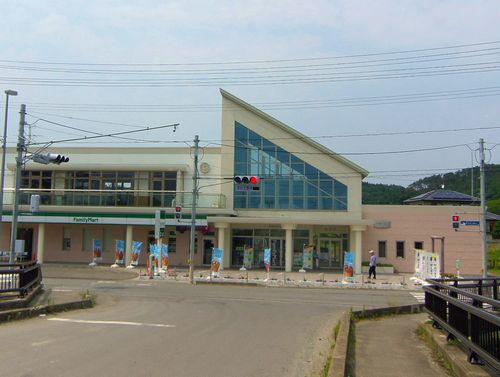 仙石線全線復旧13旧野蒜駅舎