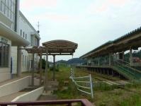 仙石線全線復旧14旧野蒜駅構内