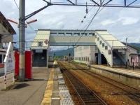 会津田島駅6構内日光側