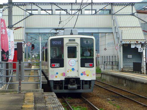 会津田島駅8スカイツリートレイン東武634型