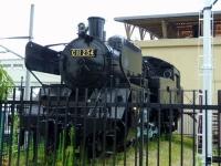 会津田島駅10静態保存C11蒸気機関車