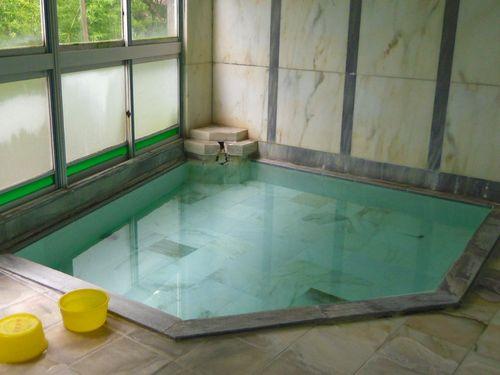 湯野上温泉清水屋旅館3内湯湯船
