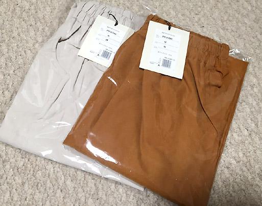 「autiqua」さんで購入。春夏物パンツです。