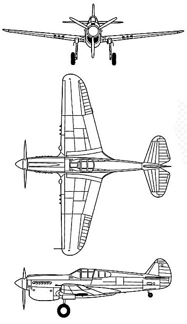 P40三面図REV