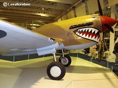 キティホークのシャークマウス横顔(RAF博物館)downsize