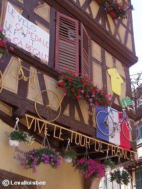 ツールドフランス応援飾り近景downsize