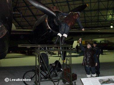 RAF博物館名物1分の1ジオラマdownsize