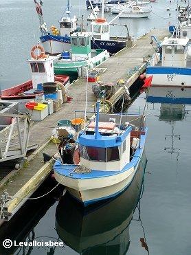 とっても小さな漁船一人乗りだろうかdwonsize