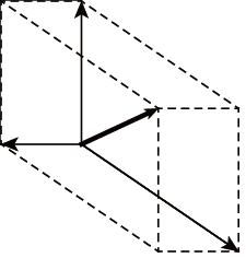 ベクトル和平行六面体