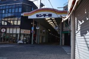 尾道のショッピング街