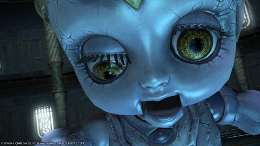 新生14 695日目 きもいお人形を見つけてこんにちにゃ~
