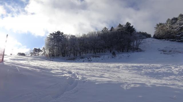 一面の雪原