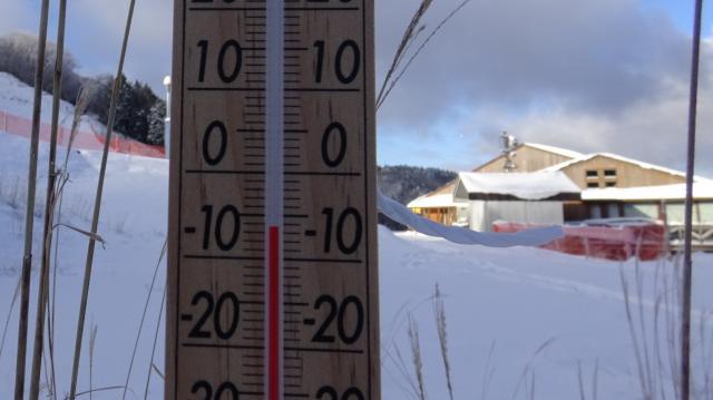 気温は-6度程度