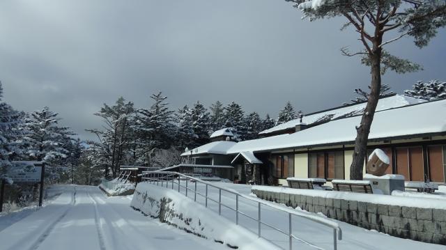 ラ・フォーレ剣山は冬眠に入っています