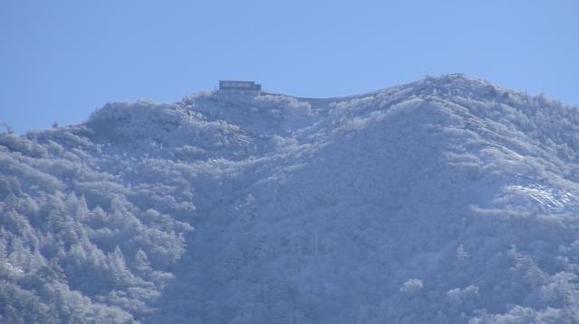雲海荘が見えます