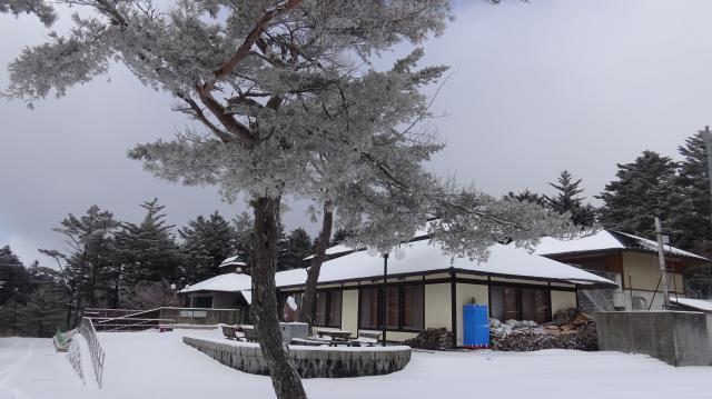 冬眠するラ・フォーレ剣山