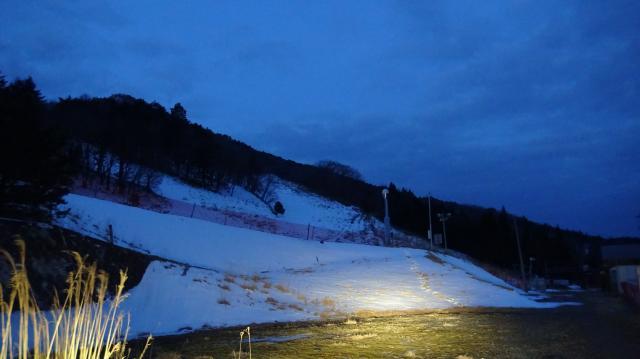 剣山スキー場に到着、06時08分