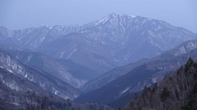 高知県の最高峰の三嶺(さんれい)
