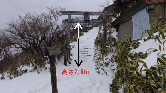 地面から貫 (ぬき) までの高さは2.6m