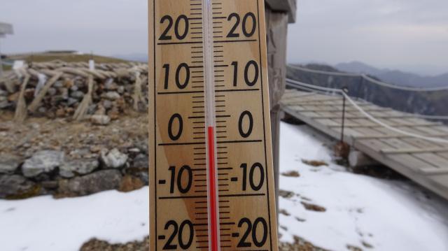3月4日10時正時でプラス3度