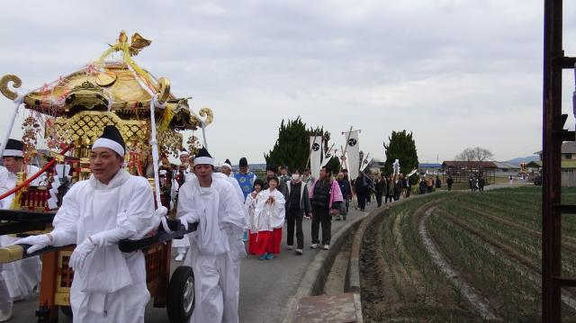 2016年3月13日の神代村の春祭