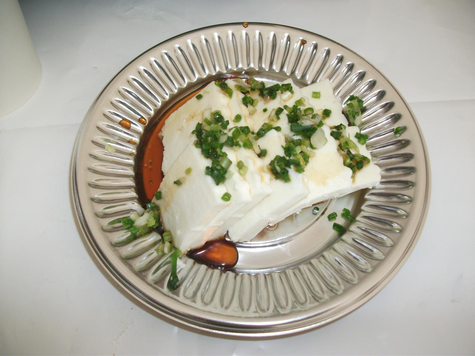 カッテージチーズのネギ和え
