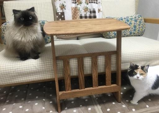 新しい家具がきた