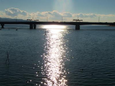 2.7松江大橋から望む宍道湖