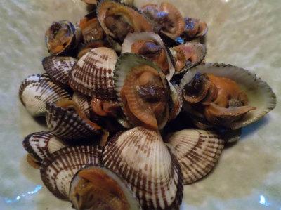 2.22赤貝の煮付