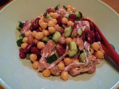 2.26パンチェッタと豆のサラダ