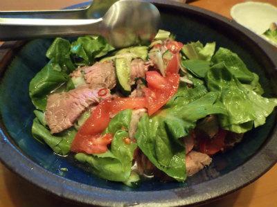 2.17牛たたきのタイ風サラダ