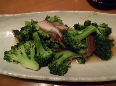 2.18ブロッコリーと椎茸のエスニック炒め