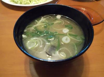3.6シジミの味噌汁