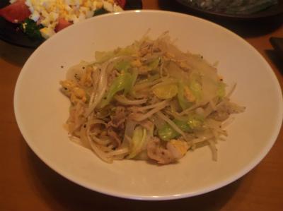 3.12野菜炒め
