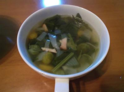3.13野菜のコンソメスープ