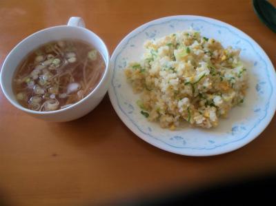 3.26炒飯とスープ