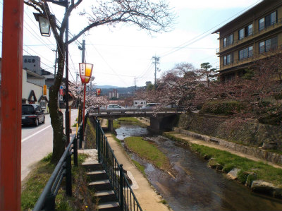 3.29玉造温泉の桜