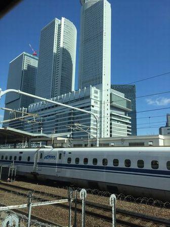 名古屋駅直前(E席側) H28.03.01撮影
