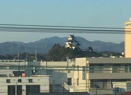 掛川城(E席側)_H28.03.03撮影