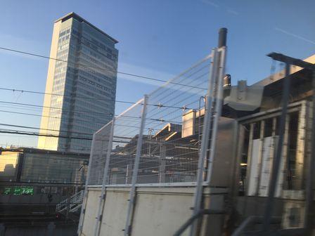 静岡駅上空の空_H28.03.03撮影