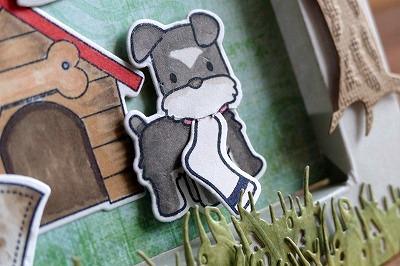 Lawn Fawn Little Bundle and Loads Of Fun Window Card