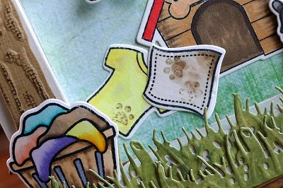 Lawn Fawn Little Bundle and Loads Of Fun Window Card