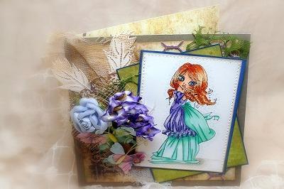 Saturated Canary Rebecca Card