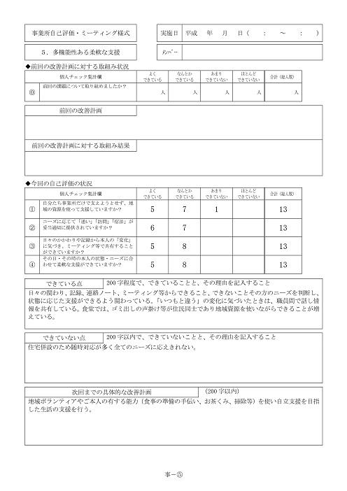 Microsoft Word - 自己評価インターネット公開用H27page5-1