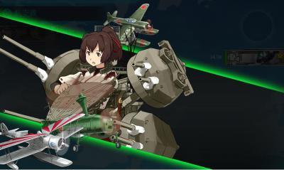 航空戦カット
