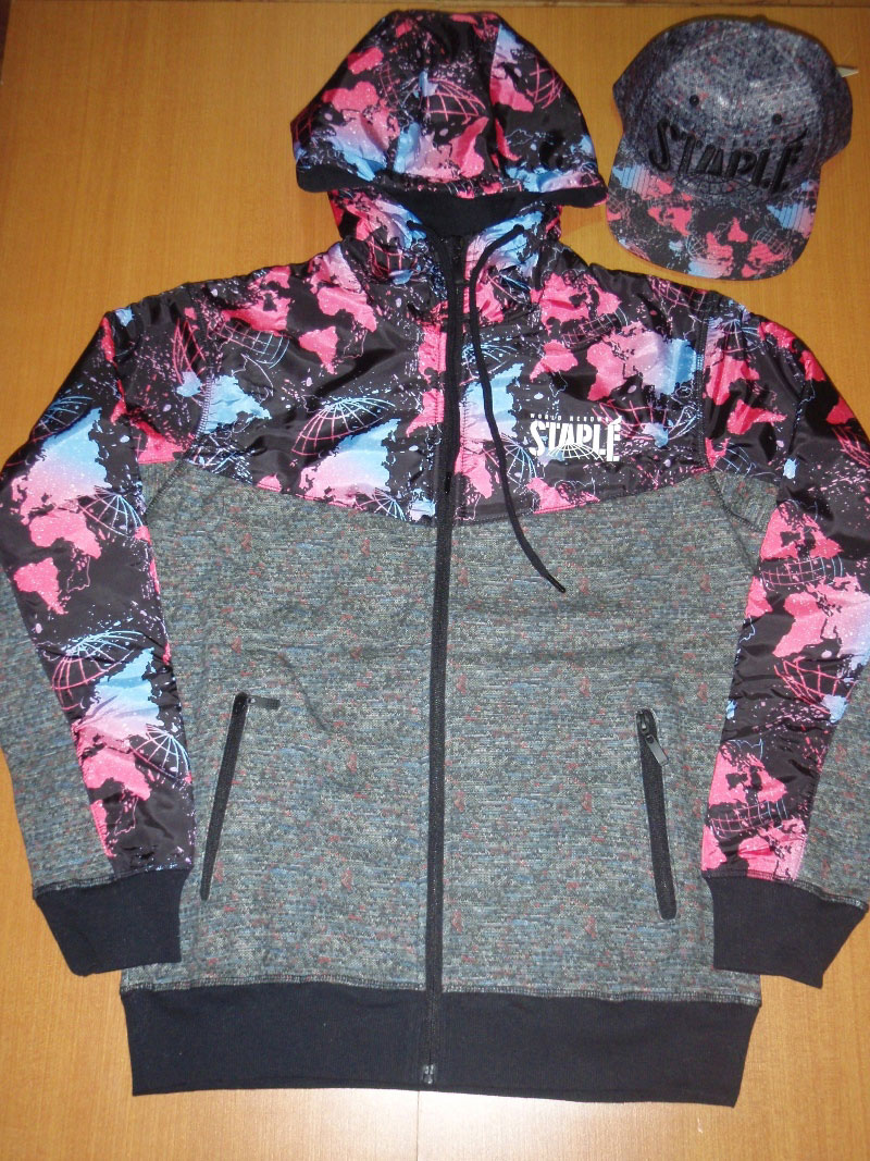STAPLE Holiday 2015 Cap Hood Jacket パーカ ジャケット STREETWISE ストリートワイズ 神奈川 湘南 藤沢 スケート ファッション ストリートファッション ストリートブランド