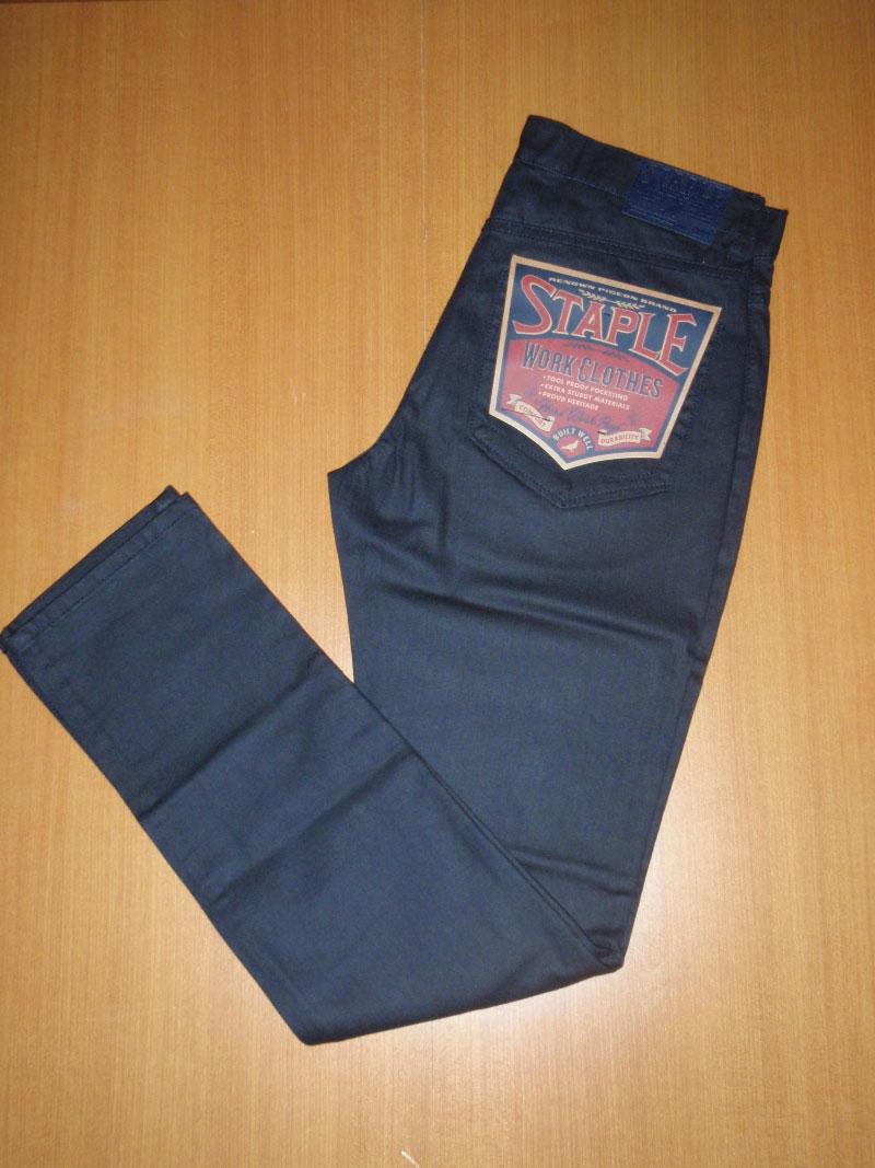 STAPLE Holiday Bottom ジーンズ STREETWISE ストリートワイズ 神奈川 湘南 藤沢 スケート ファッション ストリートファッション ストリートブランド